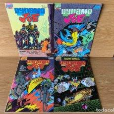 Comics: DYNAMO JOE / COMPLETA 16 NÚMEROS / FIRST COMICS - TEBEOS SA. Lote 173835083