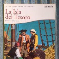 Cómics: JOYAS LITERARIAS JUVENILES: LA ISLA DEL TESORO - ROBERT LOUIS STEVENSON (EL PAIS 2010). Lote 173837887