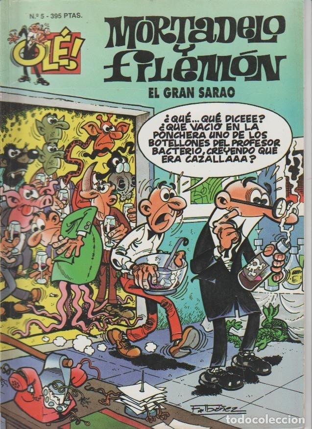 Cómics: OLÉ ! MORTADELO Y FILEMON ( B ) ORIGINALES 1993 - 2009 LOTE - Foto 83 - 173903222