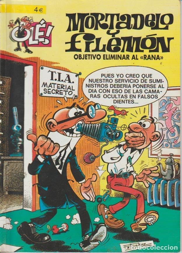 Cómics: OLÉ ! MORTADELO Y FILEMON ( B ) ORIGINALES 1993 - 2009 LOTE - Foto 85 - 173903222