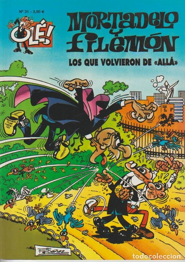 Cómics: OLÉ ! MORTADELO Y FILEMON ( B ) ORIGINALES 1993 - 2009 LOTE - Foto 86 - 173903222