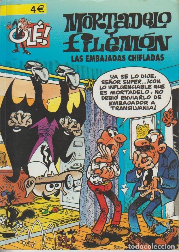 Cómics: OLÉ ! MORTADELO Y FILEMON ( B ) ORIGINALES 1993 - 2009 LOTE - Foto 87 - 173903222