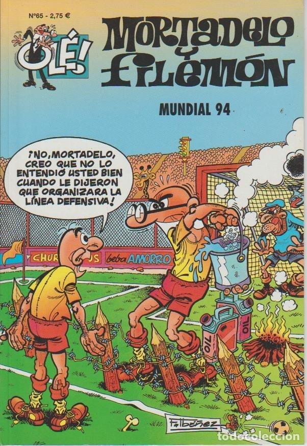 Cómics: OLÉ ! MORTADELO Y FILEMON ( B ) ORIGINALES 1993 - 2009 LOTE - Foto 90 - 173903222