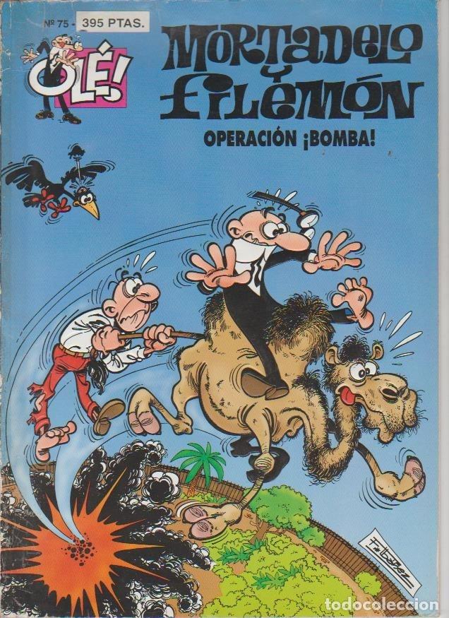 Cómics: OLÉ ! MORTADELO Y FILEMON ( B ) ORIGINALES 1993 - 2009 LOTE - Foto 91 - 173903222