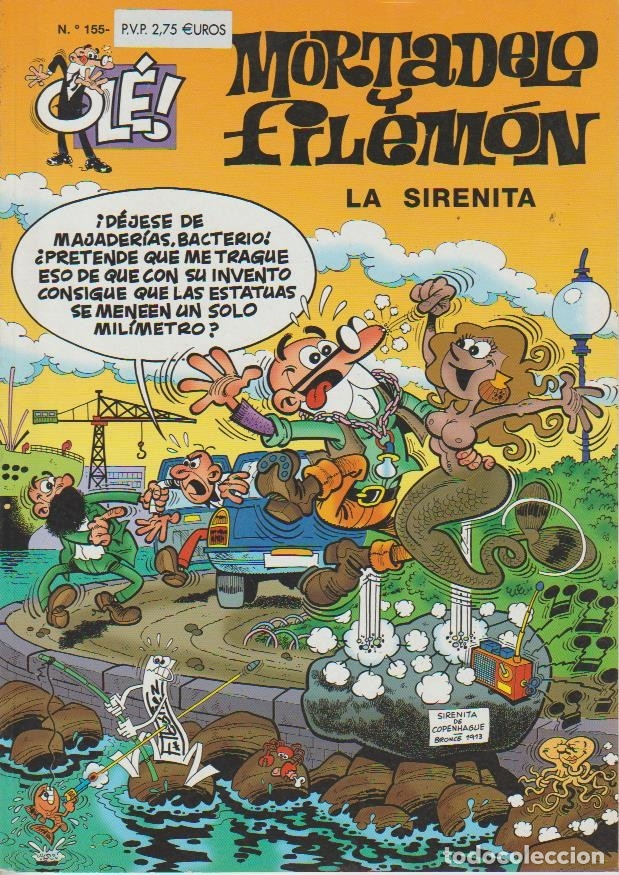 Cómics: OLÉ ! MORTADELO Y FILEMON ( B ) ORIGINALES 1993 - 2009 LOTE - Foto 97 - 173903222