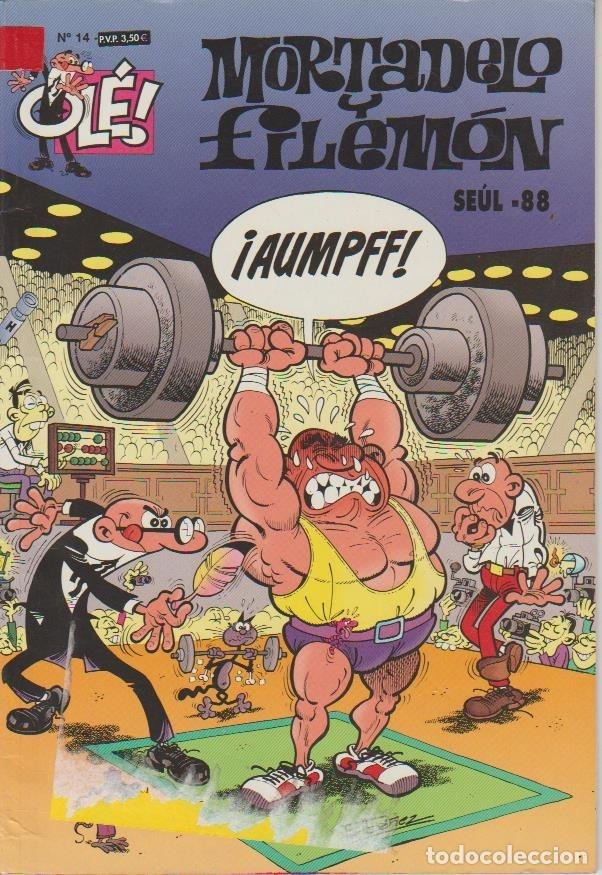 Cómics: OLÉ ! MORTADELO Y FILEMON ( B ) ORIGINALES 1993 - 2009 LOTE - Foto 101 - 173903222