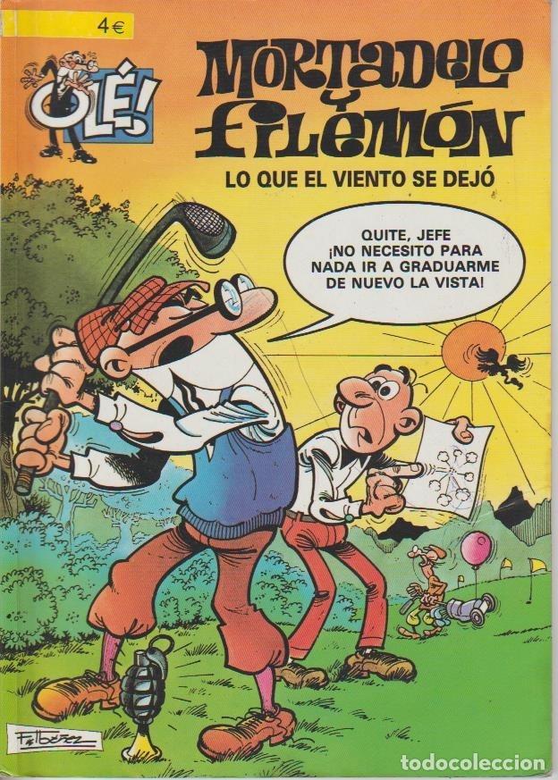 Cómics: OLÉ ! MORTADELO Y FILEMON ( B ) ORIGINALES 1993 - 2009 LOTE - Foto 102 - 173903222