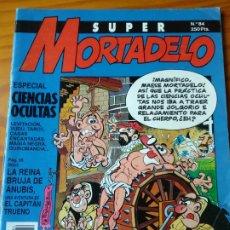 Cómics: SUPER MORTADELO N 84 -ESPECIAL CIENCIAS OCULTAS INCLUYE PUBLI HELADO DOCTOR STRABIK + CAPITAN TRUENO. Lote 174282264