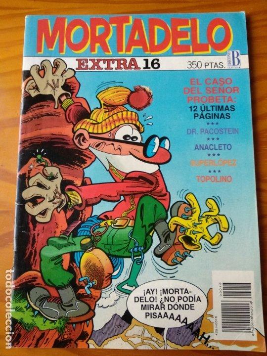 MORTADELO EXTRA 16- EDICIONES B- (Tebeos y Comics - Ediciones B - Clásicos Españoles)