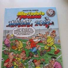 Comics: MAGOS DEL HUMOR Nº 188. MORTADELO Y FILEMON. MUNDIAL 2018. EDICIONES B 1ª EDICION 2018. NUEVO CX21. Lote 174316827