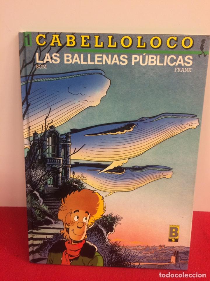 CABELLO LOCO. EDICIONES B (Tebeos y Comics - Ediciones B - Otros)