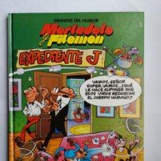 Cómics: MORTADELO Y FILEMÓN. EXPEDIENTE J. GRANDES DEL HUMOR 1. EL PERIÓDICO. 1996.. Lote 175136460