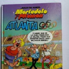 Cómics: MORTADELO Y FILEMÓN. ATLANTA 96. MAGOS DEL HUMOR. EDICIONES B. 1998.. Lote 175280508