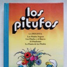 Cómics: LOS PITUFOS VOLUMEN 2. PEYO. EDICIONES B. ESPAÑA 1992. LA PITUFITA. LOS PITUFOS NEGROS.EL PITUFÍSIMO. Lote 175347799