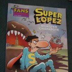 Cómics: SUPER LOPEZ MONSTER CHAPAPOTE CÓMIC TEBEO SÚPER LÓPEZ 30 AÑOS SUPERLOPEZ. Lote 175511597