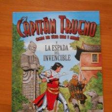 Comics: EL CAPITAN TRUENO Y LA ESPADA DEL INVENCIBLE - RICARD FERRANDIZ - TAPA DURA (O1). Lote 175672542