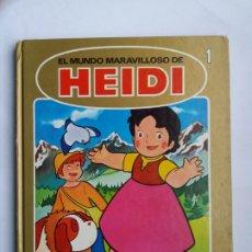 Cómics: EL MUNDO MARAVILLOSO DE HEIDI. EL CUMPLEAÑOS DE PEDRO. LA TORMENTA. 1987.. Lote 175914508