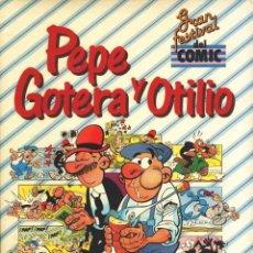 Cómics: PEPE GOTERA Y OTILIO, GRAN FESTIVAL DEL COMIC, EDICIONES BRUCH FRANCISCO IBAÑEZ TAPAS ACOLCHADAS. Lote 176208515
