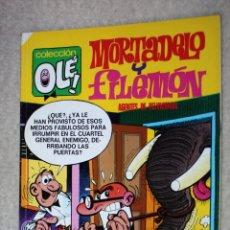 Comics : OLÉ, MORTADELO Y FILEMÓN Nº108 : AGENTES DE RELUMBRON . Lote 176234743