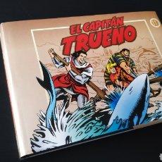 Cómics: EXCELENTE ESTADO SÚPER AVENTURAS 1008 EL CAPITÁN TRUENO 11 EDICIONES B TOMO. Lote 176533760