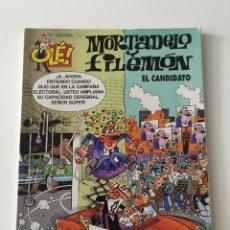 Cómics: MORTADELO Y FILEMÓN - OLÉ 9- EL CANDIDATO (3ª EDICIÓN). Lote 176717498