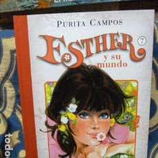 Cómics: ESTHER Y SU MUNDO -PURITA CAMPOS VOL.7. Lote 176776278