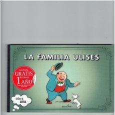 Cómics: * LA FAMILIA ULISES * EDICIONES B * 1ª EDICION 2009 * IMPECABLE *. Lote 176802539