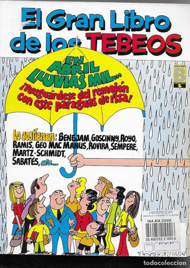 EL GRAN LIBRO DE LOS TEBEOS -Nº 8 ( CONTIENE Nº 25- 26- 27 ) (Tebeos y Comics - Ediciones B - Humor)