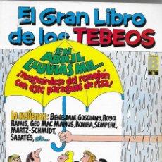 Cómics: EL GRAN LIBRO DE LOS TEBEOS -Nº 8 ( CONTIENE Nº 25- 26- 27 ). Lote 176874532