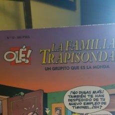 Cómics: OLÉ. LA FAMILIA TRAPISONDA.Nº 12 UN GRUPITO QUE ES LA MONDA.1ªED 1997 EN RELIEVE. Lote 176941873