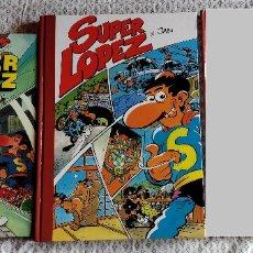 Cómics: LOTE PACK (1RAS EDICIONES) N 1 Y 4 SUPER LOPEZ - EDICIONES B. Lote 174038385