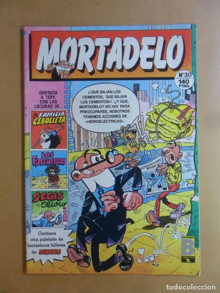 Nº 30 MORTADELO - EDICIONES B - 1987 (Tebeos y Comics - Ediciones B - Clásicos Españoles)