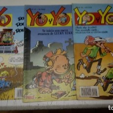 Cómics: LOTE DE 3 TEBEOS YO Y YO Nº 21, 23 Y 27 - TEBEOS SA CON LUCKY LUKE, SPIROU, JAN, ETC. Lote 177608034