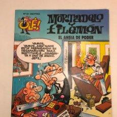 Comics : COLECCION OLE Nº 10. MORTADELO Y FILEMON. EL ANSIA DE PODER. EDICIONES B 1ª EDICION 1993. Lote 177655232