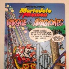 Cómics: MAGOS DEL HUMOR Nº 95. MORTADELO Y FILEMON. PARQUE DE ATRACCIONES. EDICIONES B 1ª EDICION . Lote 177752142