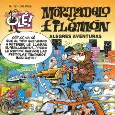 Comics: MORTADELO Y FILEMÓN - EDICIONES B / NÚMERO 131 (1ª EDICIÓN) 1997 / PORTADA CON RELIEVE. Lote 177829505