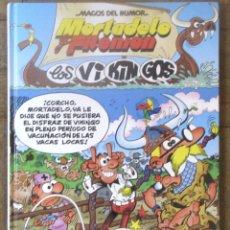 Cómics: MORTADELO. LOS VIKINGOS. MAGOS DEL HUMOR. CÍRCULO DE LECTORES, 2003. TAPA DURA. . Lote 178036089