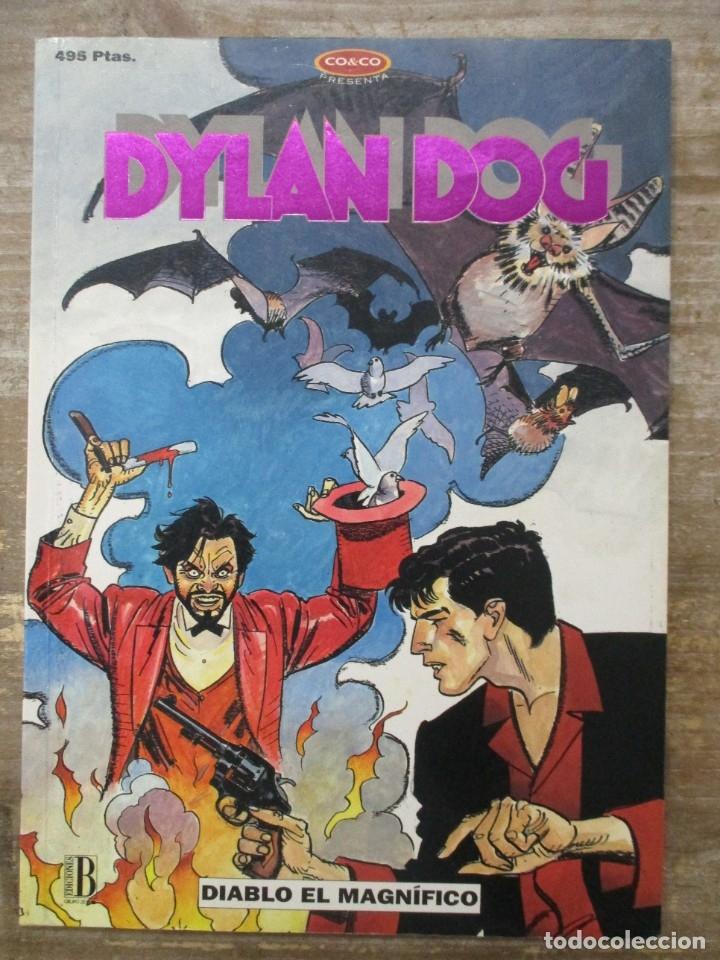 DYLAN DOG - NUMERO 4 - DIABLO EL MAGNIFICO - 1994 - 96 PÁGS. B/N (Tebeos y Comics - Ediciones B - Otros)