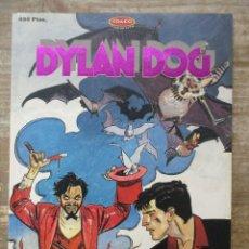 Cómics: DYLAN DOG - NUMERO 4 - DIABLO EL MAGNIFICO - 1994 - 96 PÁGS. B/N. Lote 178051365