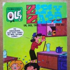 Cómics: ZIPI Y ZAPE: UN, DOS, TRES... TRAVESURAS OTRA VEZ. COLECCIÓN OLÉ! N°129-Z.85 (EDICIONES B, 1990).. Lote 178103893