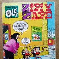 Cómics: ZIPI Y ZAPE Y CARPANTA. COLECCIÓN OLÉ! N°301-Z.63 (EDICIONES B, 1989). CON HISTORIETAS CORTAS.. Lote 178104183