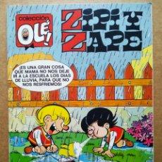 Cómics: ZIPI Y ZAPE Y TOBY. COLECCIÓN OLÉ! N°390-Z.195 (EDICIONES B, 1991). CON 'UNA HERENCIA COMPLICADA'.. Lote 178104249