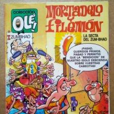 Cómics: MORTADELO Y FILEMÓN: LA SECTA DEL ZUM-BHAO. COLECCIÓN OLÉ! N°315-M.217 (EDICIONES B, 1991).. Lote 178206873