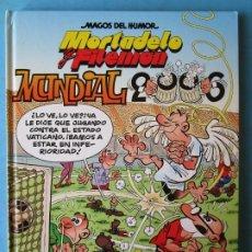 Cómics: MAGOS DEL HUMOR - MORTADELO Y FILEMÓN - MUNDIAL 2006 TAPA DURA (MUY BUEN ESTADO). Lote 178574743
