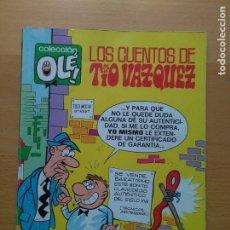 Cómics: LOS CUENTOS DEL TIO VAZQUEZ OLE Nº 25-V.5 / EDICIONES B 1988. Lote 178606613
