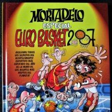 Cómics: MORTADELO ESPECIAL - EUROBASKET 2007 - EDICIONES B. 1ª EDICIÓN 2007 (NUEVO). Lote 178664127