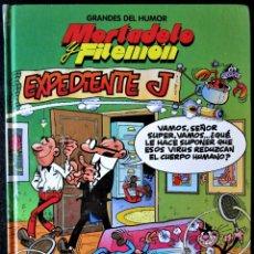 Cómics: GRANDES DEL HUMOR Nº 1 - MORTADELO Y FILEMÓN EXPEDIENTE J - EDICIONES PRIMERA PLANA 1996. Lote 178664733