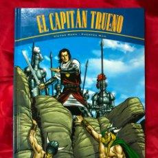 Cómics: EL CAPITAN TRUENO, VICTOR MORA -FUENTES MAN, PASTAS DURAS DE LUJO. Lote 178667088