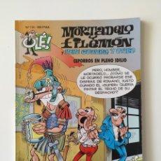 Cómics: MORTADELO Y FILEMÓN - OLÉ 112 - CEPORROS EN PLENO IDILIO. Lote 178741481