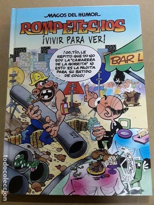 MAGOS DEL HUMOR,ROMPETECHOS,N°128,1.ª EDICIÓN 2009 (Tebeos y Comics - Ediciones B - Humor)